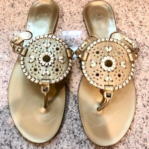 Jack Rogers Jelly Sandals (like new)